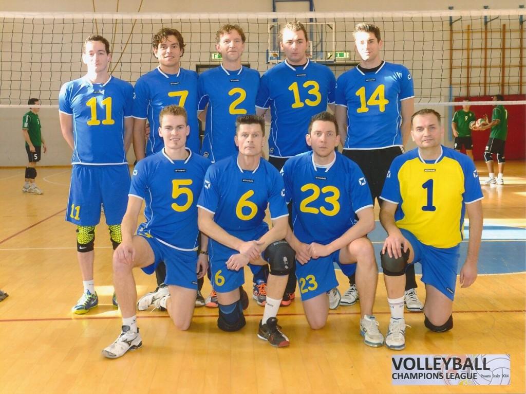 7.Platz bei der ersten Deaf Champions League 2014 in Pesaro/ITA