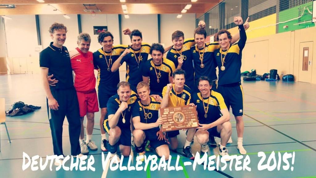 Deutscher Meister 2015 für GTSV Essen