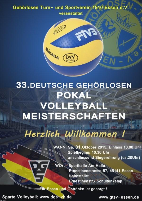 Deutsche 33.Pokalmeisterschaften